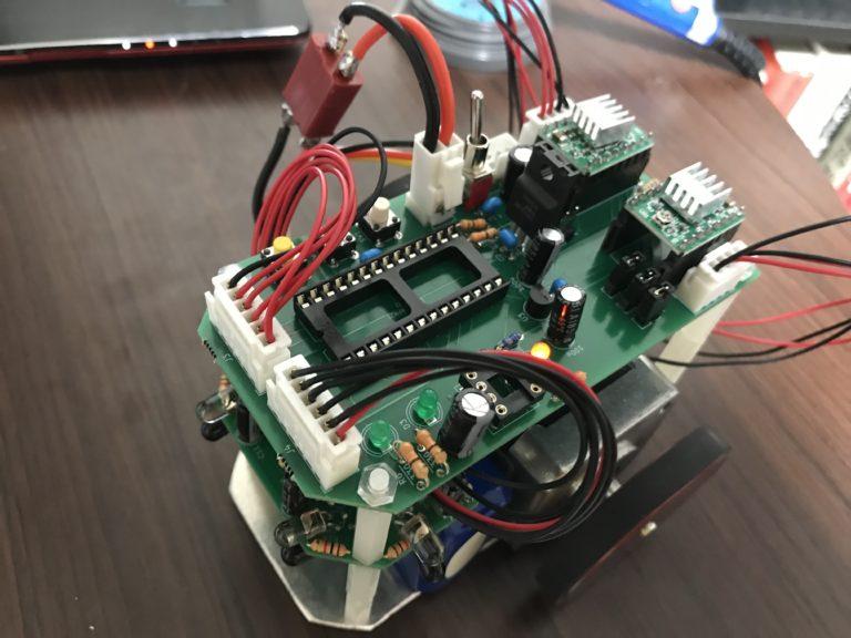 マイクロマウス機体を自作で作る
